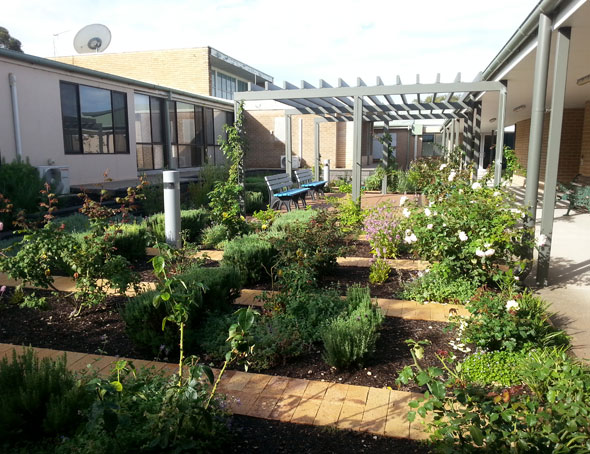 Riverland general hospital outerspace landscape architects for Outer space landscape architects adelaide