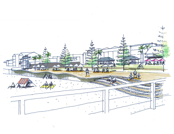 Henley square urban design competition outerspace for Outer space landscape architects adelaide