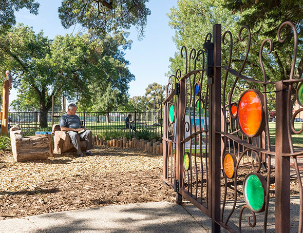 Australia 39 s best playground outerspace landscape architects for Outer space landscape architects adelaide