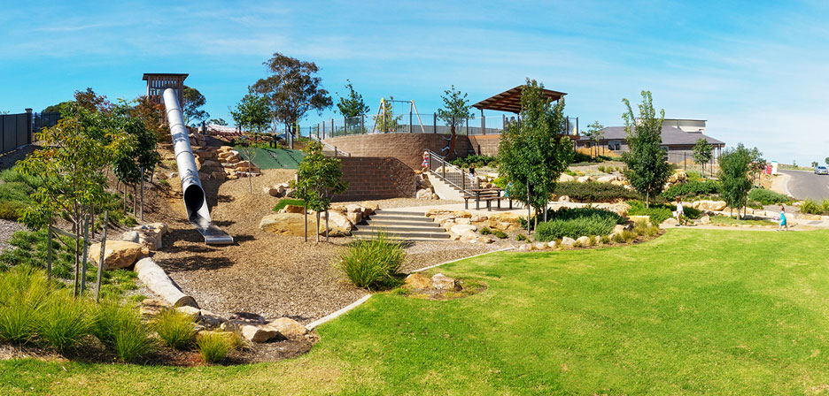 Blackwood park outerspace landscape architects for Outer space landscape architects adelaide
