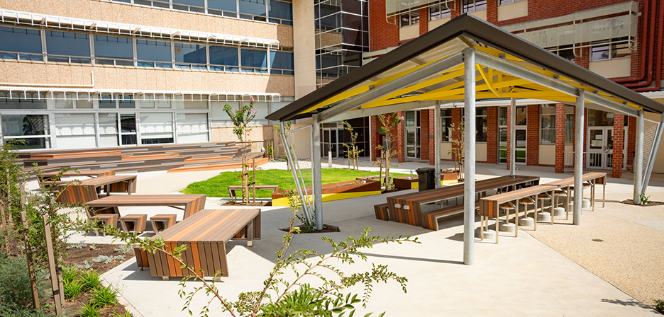 Norwood Morialta Highschool Courtyard - Image 6